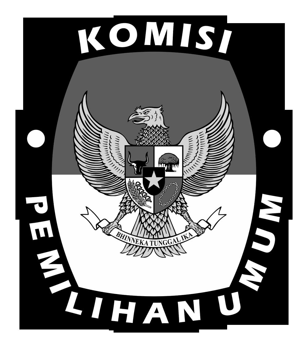 Logo-KPU-Komisi-Pemilihan-Umum-PNG-Hitam-Putih